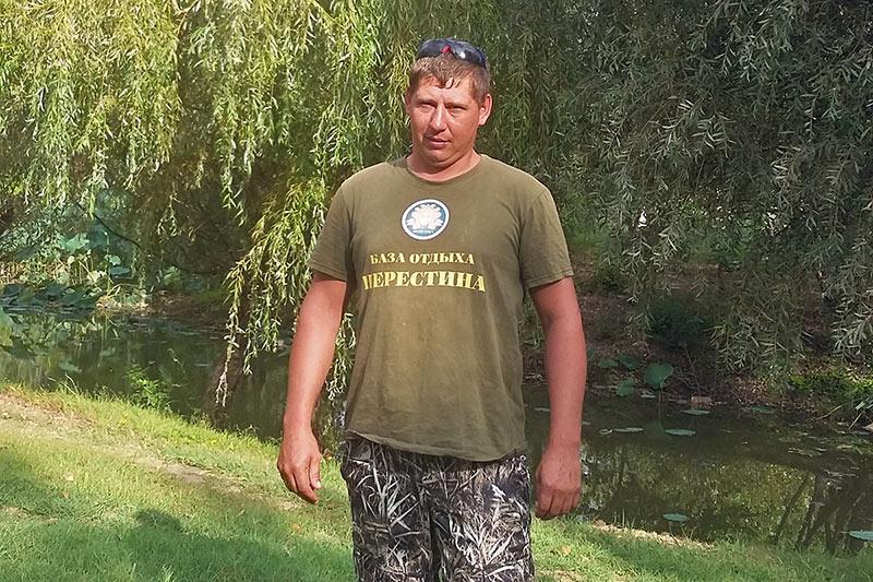 """Павлов Семен Михайлович - егерь базы отдыха """"Нерестина"""""""