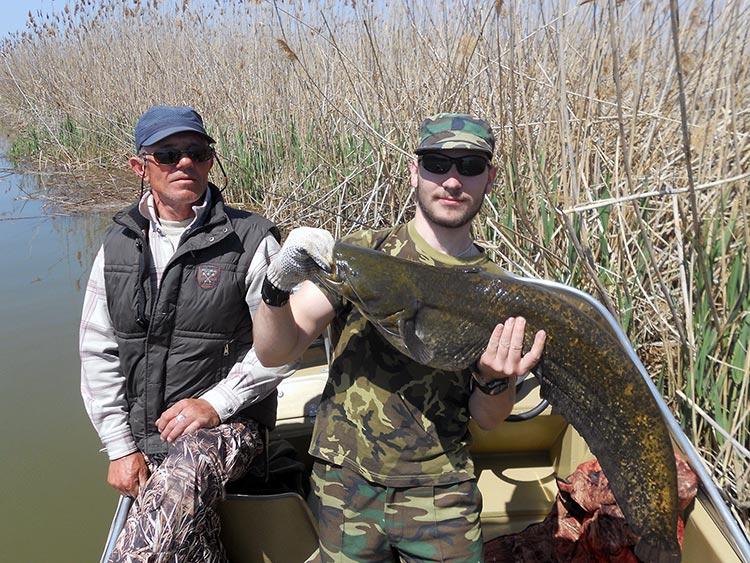 Улов краснодарских рыбаков